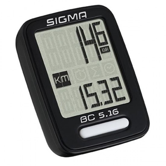 Kolesarski števec SIGMA BC 5.16