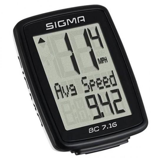 Kolesarski števec SIGMA BC 7.16